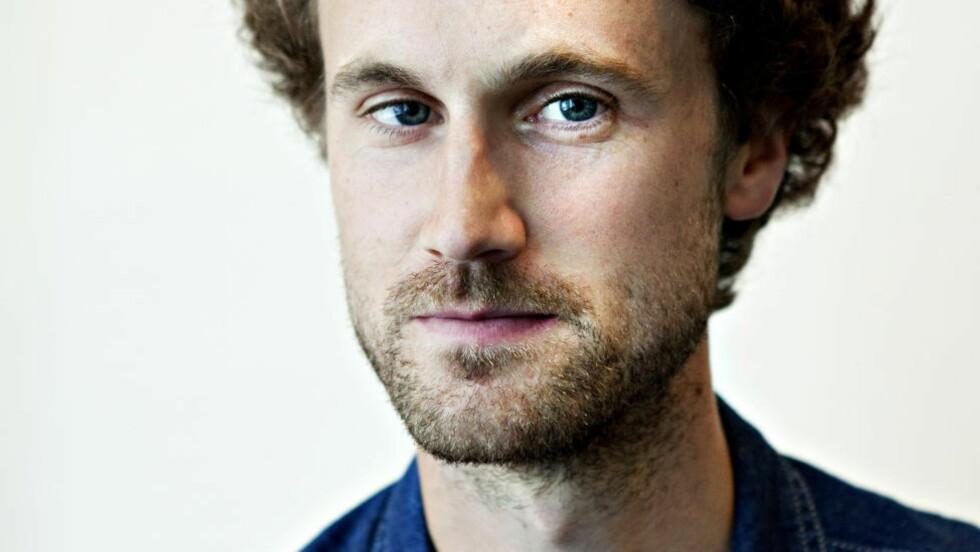 Framtidsdystopi Anders Malm har latt seg inspirere av George Orwells klassiker «1984» i sin første roman.  Foto: Nina Hansen / Dagbladet