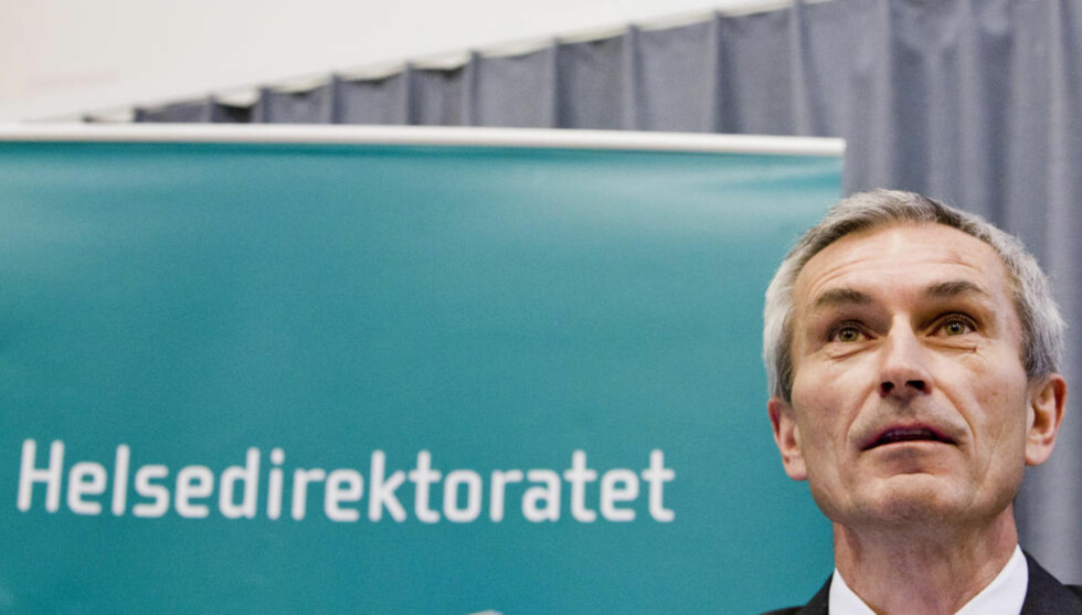 GLEMMER PSYKEN: Helsedirektør Bjørn-Inge Larsen synes å glemme at han også er helsedirektør for psykisk helse, skriver artikkelforfatteren.  Foto: Berit Roald / Scanpix