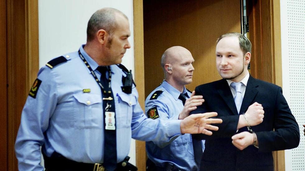 MYSTISKE OVERFØRINGER: Anders Behring Breivik har i lange politiavhør forklart seg om hvitvasking og større pengeoverføringer til utlandet. Foto: Nina Hansen / Dagbladet
