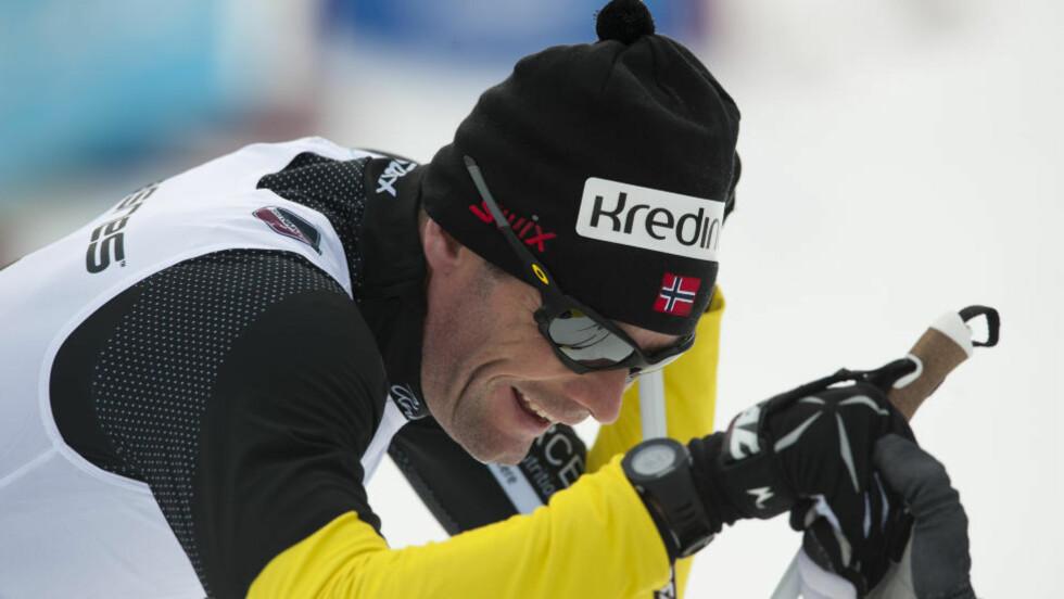 SLÅTT UT: Thomas Alsgaard er slått ut av sjukdom, og føler seg ikke i stand til å gå morgendagens Vasalopp.Foto: Marit Hommedal / Scanpix