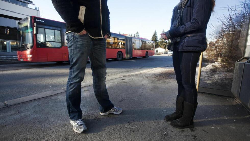 RYSTET: Cecilie ble overfalt og ranet av en guttegjeng da hun tok bussen. Foto: Henning Lillegård / Dagbladet