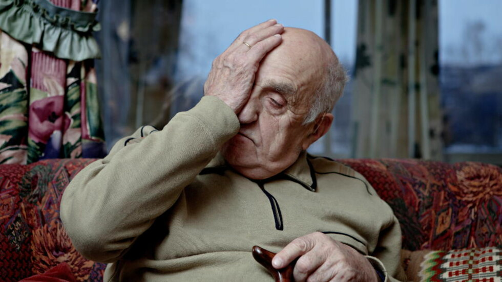 -PERSONANGREP : - Alt han skriver er løgn, sier Joralf Jerstad om Ronnie Johansons bok «Profeten fra Snåsa». Foto:  LARS EIVIND BONES / DAGBLADET