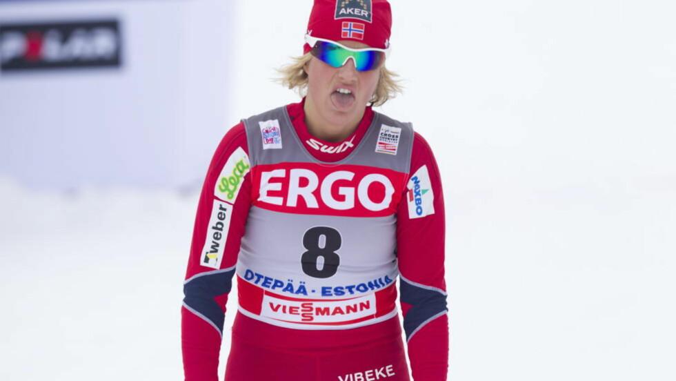 GÅR IKKE: Vibeke Skofterud går ikke i Holmenkollen søndag. Foto: Terje Bendiksby / Scanpix