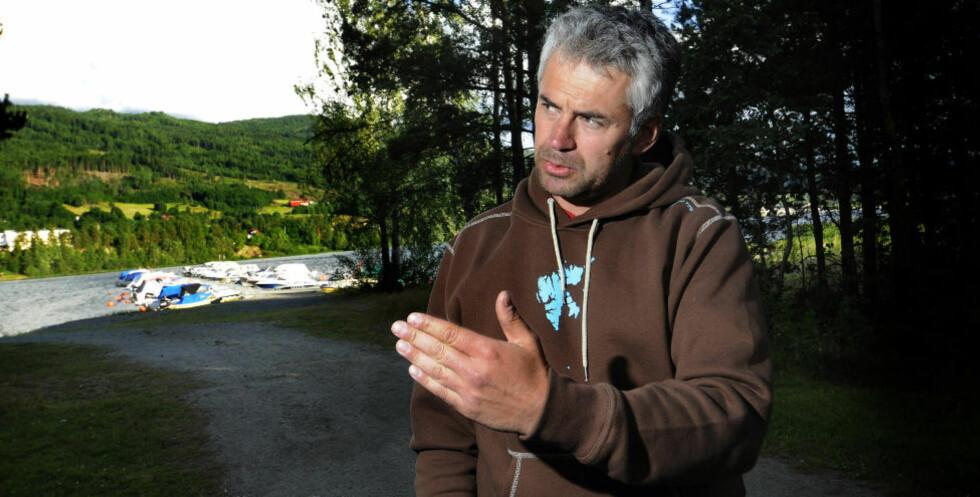 FRAKTET BREIVIK FRA UTØYA:  Mads Hartz fraktet Breivik fra Utøya natt til 23. juli. Foto: Nils J. Maudal