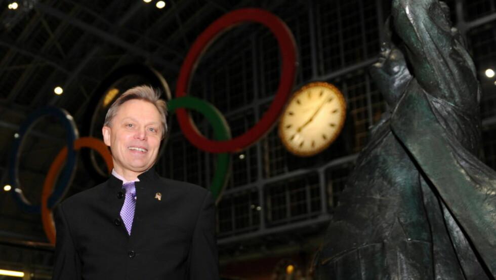 BAKMANN: Alan Lake, tidligere banksjef og investeringskapitalist, står bak organisasjonen Four Freedoms Community. Breivik har i avhør innrømmet at han var inspirert av organisasjonen, som har holdt hemmelige møter i kirker i London. Foto: Keith Hammett / Dagbladet