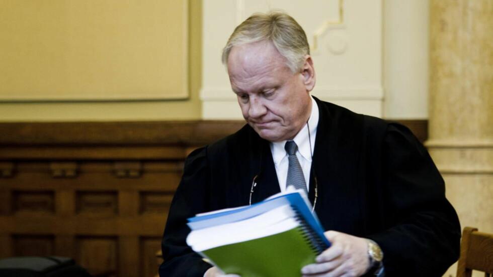 FÅR IKKE FORTSETTE. Borgarting lagmannsrett står fast på at advokat Sigurd Klomsæt ikke får være bistandsadvokat i terrorsaken. Foto: Berit Roald / Scanpix
