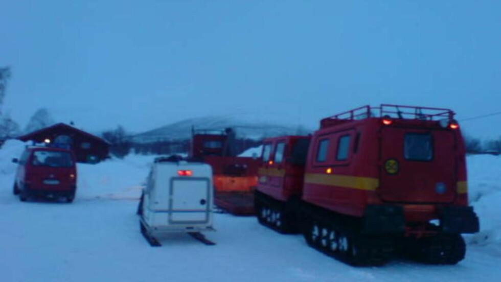STOR LETEAKSJON: Norske og utenlandske mannskaper deltar i den massive leteaskjonen både i lufta og på bakken. Foto: Hans Sternlund