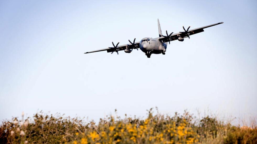 FLYET SOM ER SAVNET: Flyet som er savnet heter «Siv». Alle de fire flyene er oppkalt etter norrøne gudinner. «Siv» ble levert til 335 skvadronen i juni 2010.