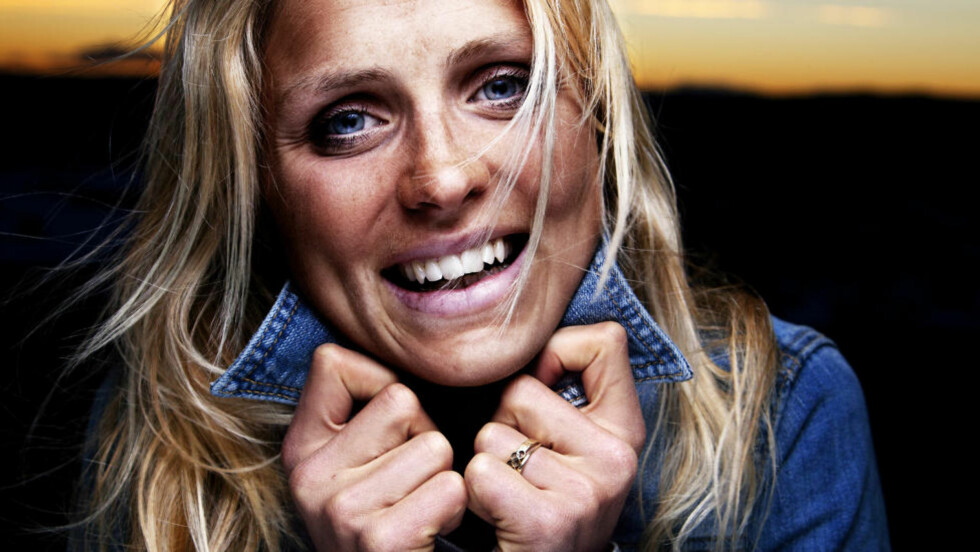 Johaug-effekten: -Jeg er bare den jenta jeg er. Bondeknølen fra Dalsbygda, sier Therese Johaug. Foto: Lars Myhren Holand.