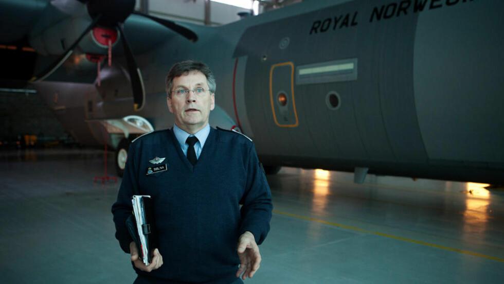 HAR HÅP:  Oberstløytnant Trond Sølna mener Hercules-flyene er noe av de sikreste flyene som finnes. Foto: Jo Straube / Dagbladet