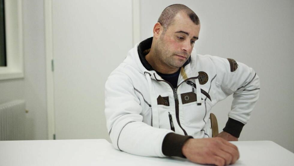 FÅR REISE SAMMEN MED FAMILIEN: Mohammed Ahmed Salem. Foto: Jo Straube / Dagbladet