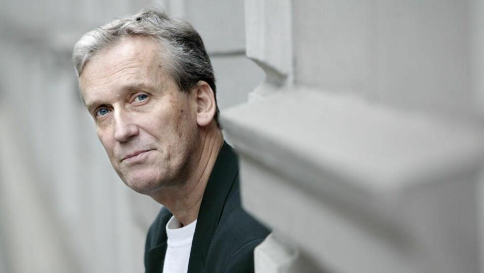 JUBILANT: Det norske samlaget gjør ingen hemmelighet av at en av deres mest populære forfattere rundr 60 år. Foto: HENNING LILLEGÅRD/DAGBLADET.