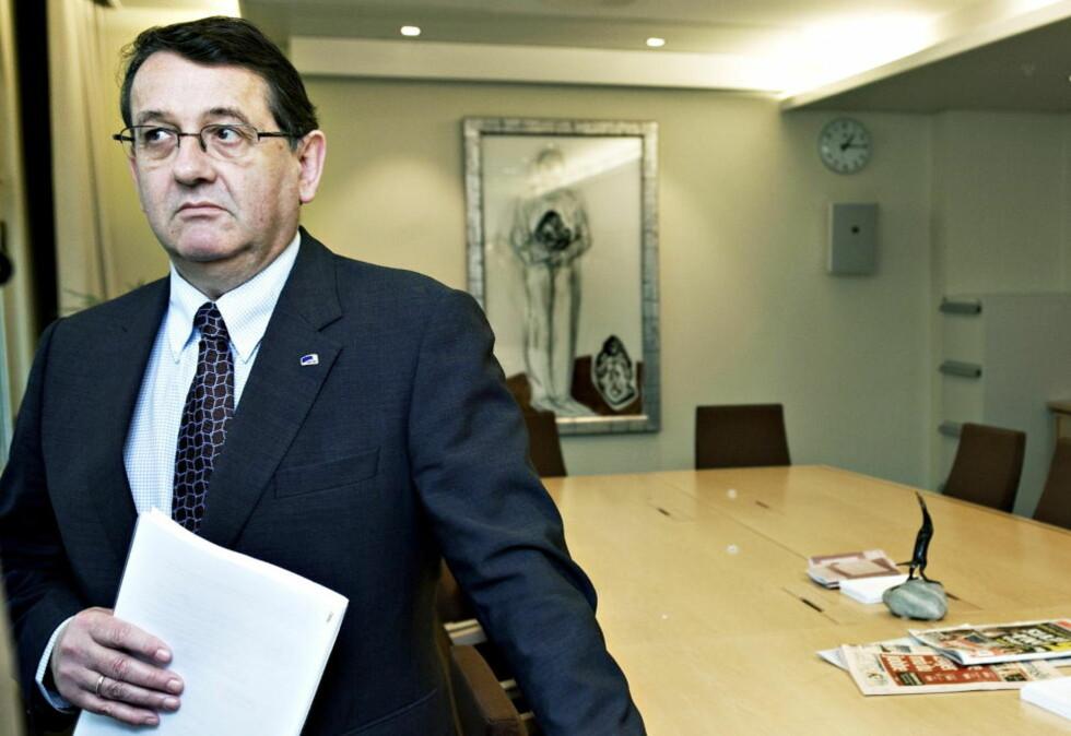 KRITISK: Høyres representant i  Stortingets kontroll- og konstitusjonskomite, Per-Kristian Foss (H), mener Gahr Støre burde tatt en habilitetsvurdering. Foto: Nina Hansen / Dagbladet