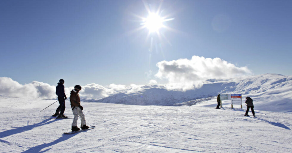 NOK SNØ:  Voss Fjellandsby Myrkdalen har fått betydelig påfyll av snø siste uka. Foto: OLE C.H. THOMASSEN