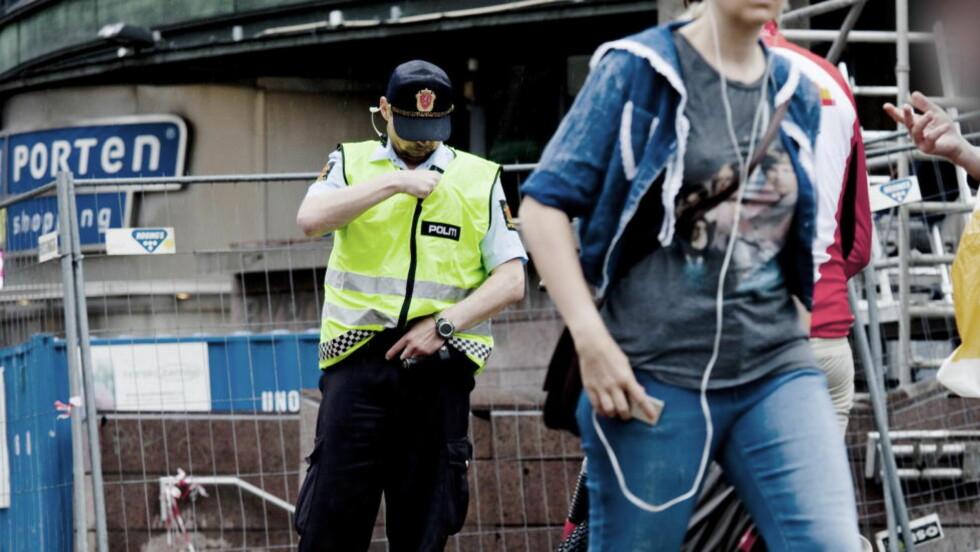 "RUSPOLITIKK: Oslo-politiet rydder ""Plata"" før sommeren 2011. Foto: Sveinung U. Ystad, Dagbladet"