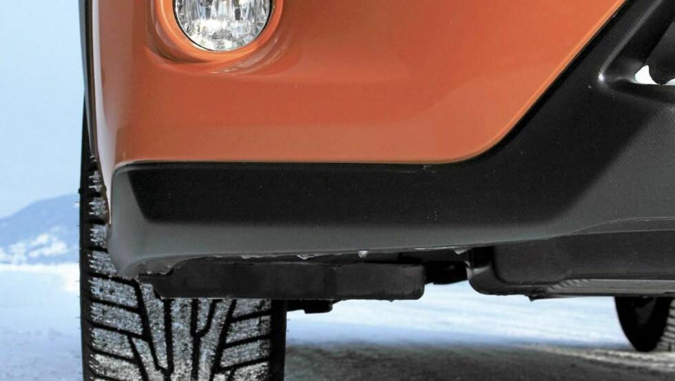 GJERRIG 4WD: Den nye Subaru XV er per mars 2012 den firehjulsdrevne bilen som har brukt minst drivstoff i våre tester. FOTO: Egil Nordlien, HM Foto