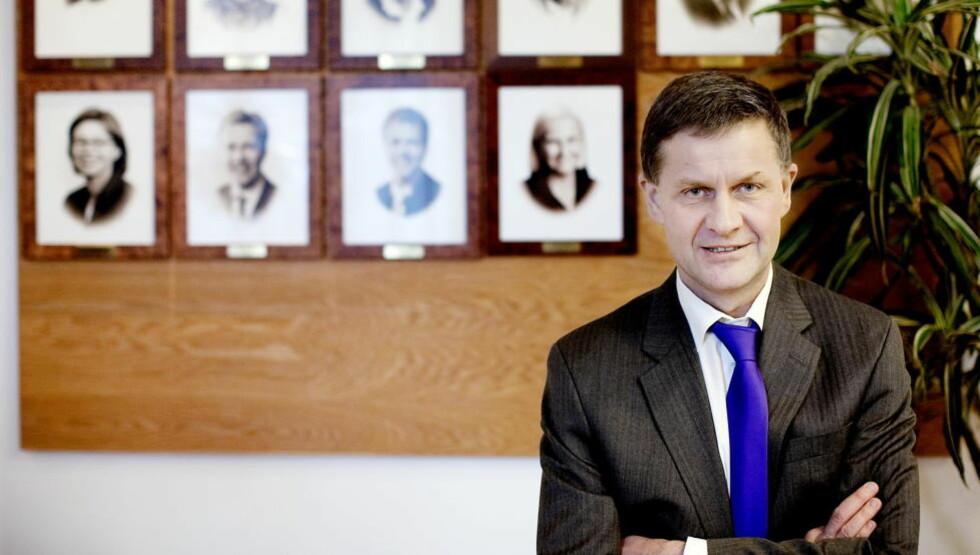 VIL IKKE BLI LOBBYIST: Miljø- og utviklingsminister Erik Solheim, som får sparken i Kongen i statsråd i dag. Foto: Espen Røst / Dagbladet