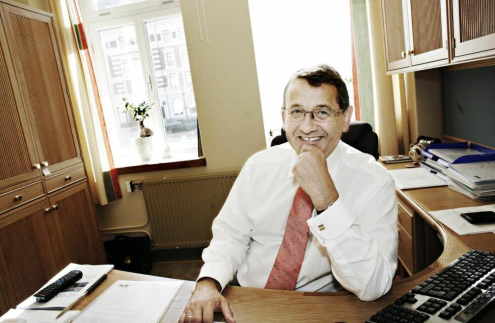 FIKK SLAG: Per-Kristian Foss fikk hjerneslag på nyåret. På tross av det har han skjøttet sine oppgaver på Stortinget gjennom en travel sesjon. Foto: FRANK KARLSEN / DAGBLADET