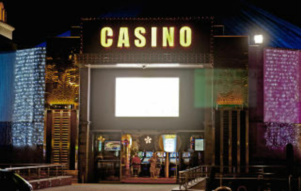 CASINO: Her er det også kasino. Foto: JOHN TERJE PEDERSEN