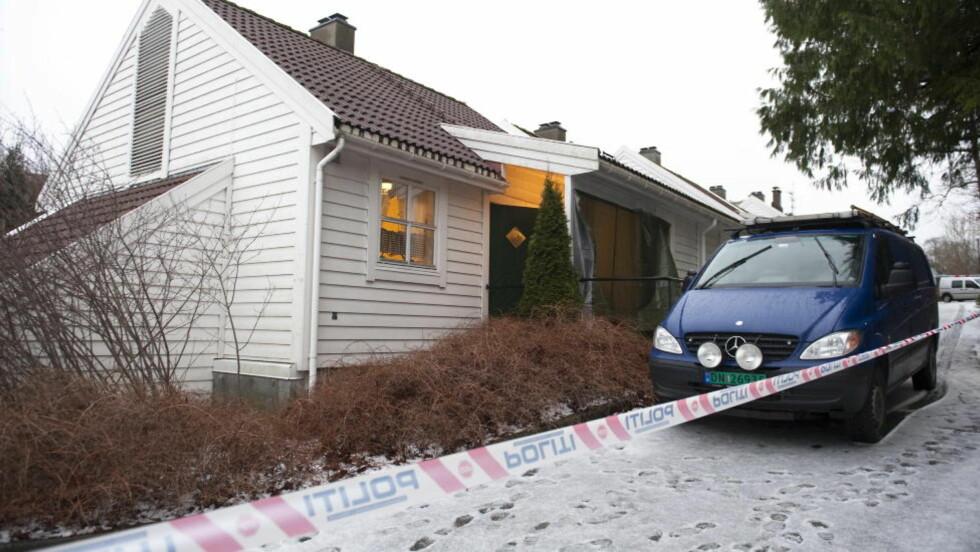 OS: I denne omsorgsboligen ble gamle Hilda Feste (98) funnet drept. Foto: Marit Hommedal / Scanpix