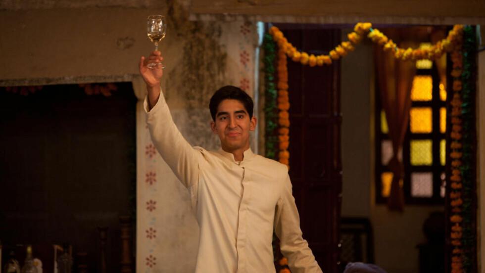 SLUMDOG: Dev Patel gjorde braksuksess med filmen Slumdog Millionaire. Nå er han aktuell som hotelldirektør i Best Exotic Marigold Hotel. Foto: Scanpix