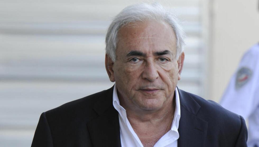SIKTET: Den tidligere IMF-sjefen Dominique Strauss-Kahn er nå siktet i det som i Frankrika kalles «Hotel Carlton-saken». Foto: REUTERS/Gonzalo Fuentes/Files/Scanpix