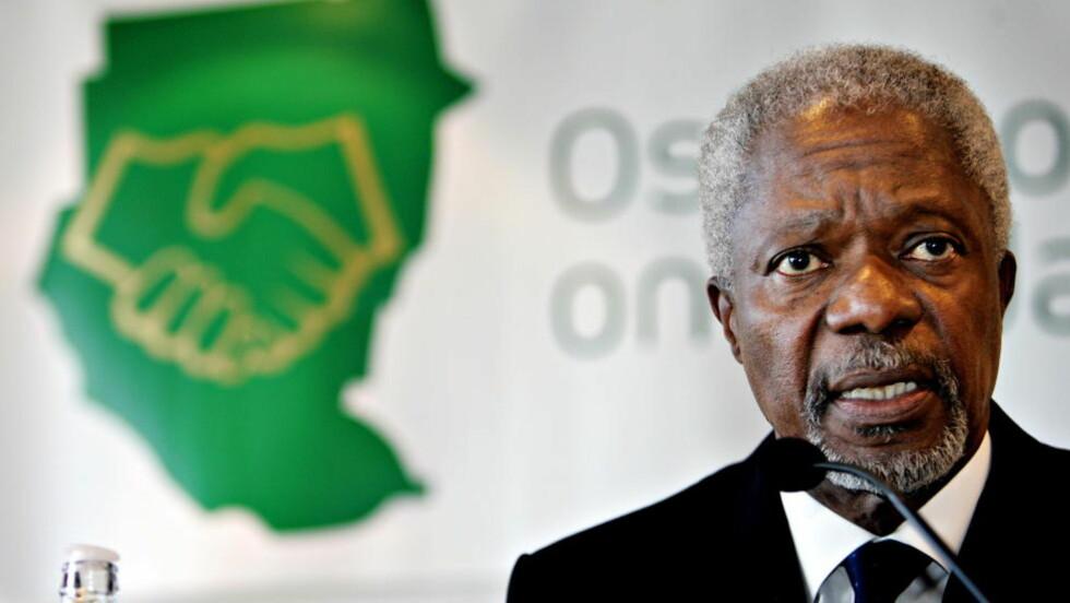SYRIA: Syria har godtatt sekspunktsplanen som FNs spesialutsending Kofi Annan har foreslått, opplyser en talsmann for Annan. Foto: NORDAHL/ALEKSANDER, Dagbladet