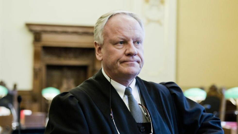 KASTET: Advokat Sigurd Klomsæt får ikke være bistandsadvokat i 22. juli-saken. Foto: Berit Roald / Scanpix