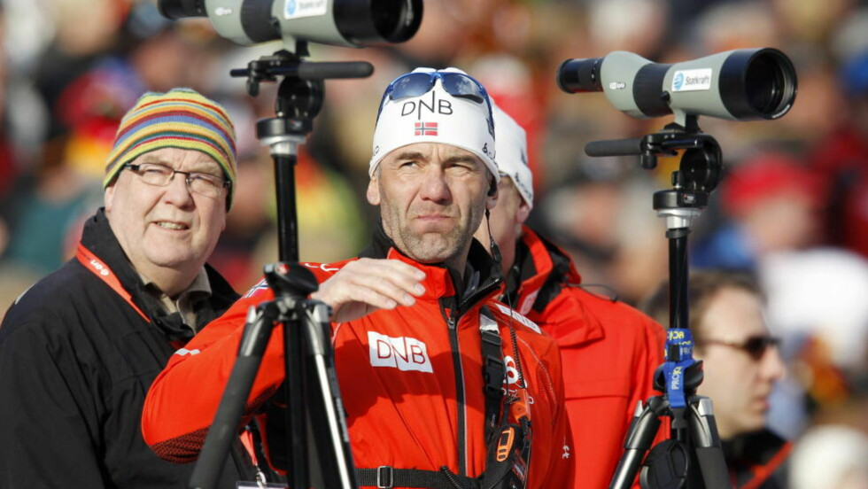 FÅR IKKE FORTSETTE: Mikael Löfgren er ferdig som landslagstrener i skiskyting. Foto: Håkon Mosvold Larsen, Scanpix
