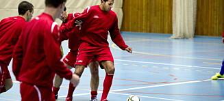 Norge med klart tap mot Italia i futsal