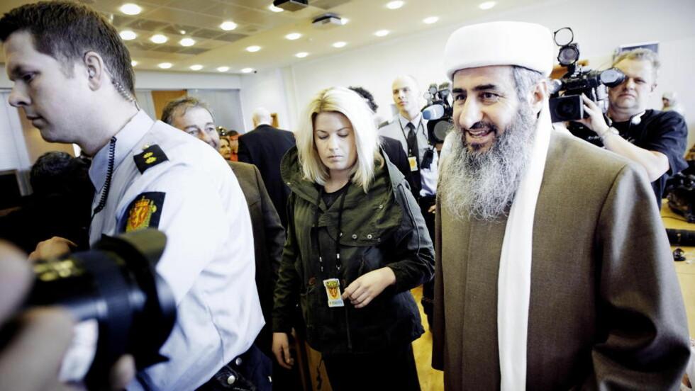 FRYKTER INSPIRASJON: PST frykter at Mulla Krekar skal bli en inspirasjon for unge, radikale muslimer. Foto: Bjørn Langsem / Dagbladet.
