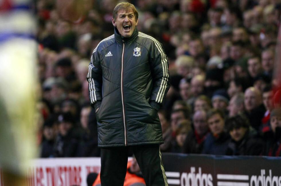 ELENDIG LIGAFORM: Liverpool har hatt elendig uttelling i Premier League etter jul. Bare Wolves har samlet færre poeng enn Kenny Dalglishs elever i 2012.Foto: AP Photo / Tim Hales / NTB Scanpix