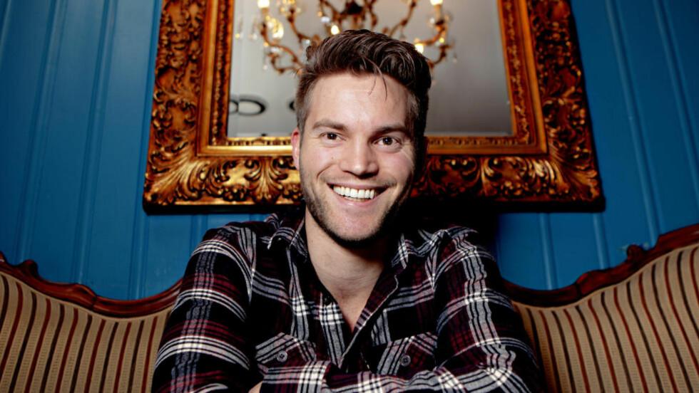 POLITIMANN: Eirik H. Sæther er nyutdanet politimann og jobber i Savnet-avsnittet ved Oslo Politikammer. Foto: Lars Eivind Bones / Dagbladet