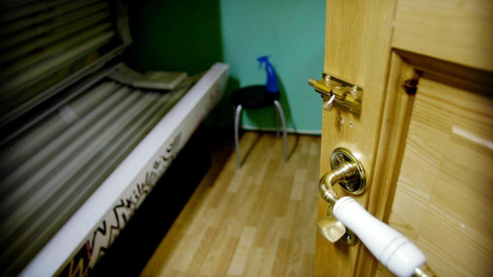 SELGER SEX: Prostituerte selger sex i ubetjente solstudioer i Trondheim.  Foto: John T. Pedersen/Dagbladet