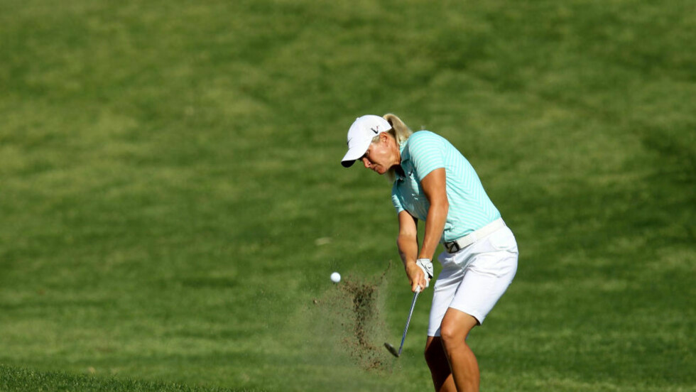 I FORM: Suzann Pettersen i California. Foto:   Stephen Dunn/Getty Images/AFP