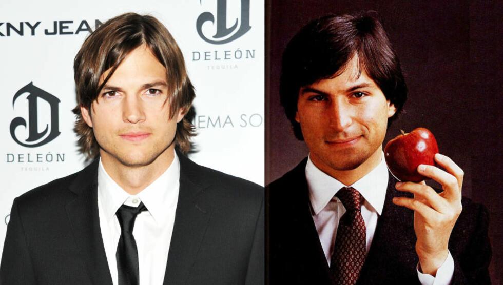 GOD MATCH: Ashton Kutcher skal spille Steve Jobs. Foto: Scanpix/NTB/Apple