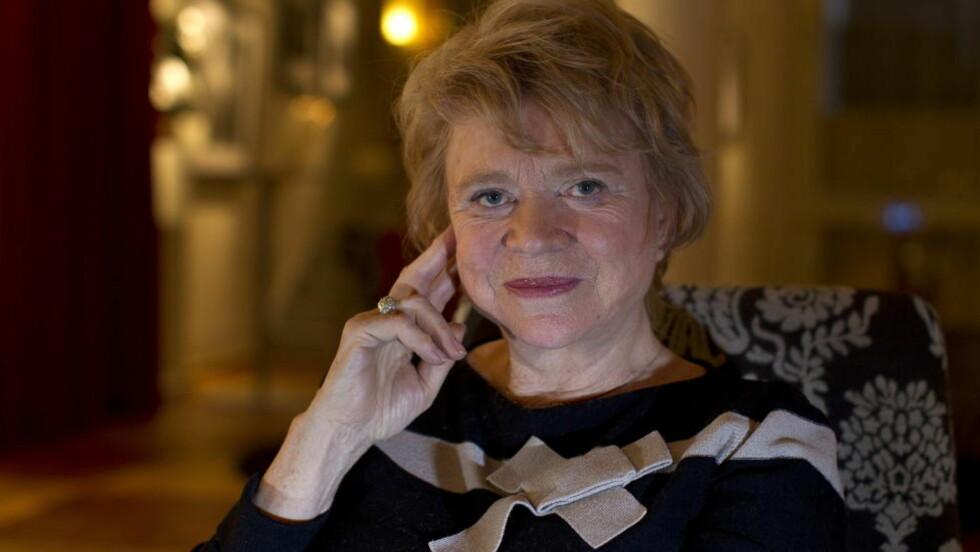 SKADD: Eva Joly ble ifølge NRK skadd da hun var på vei ut av en kinosal i Paris i går.  Foto: ROGER VIKSTRÖM
