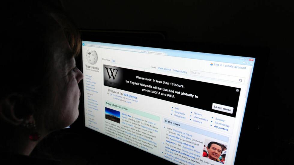 NYVINNING: Wiki-modellen for publisering var revolusjonerende da den kom. Tilsvarende er Store norske leksikons måte å vise fram kunnskapsproduksjon en nyvinning, skriver artikkelforfatterne. Foto: AFP PHOTO/Karen Bleier