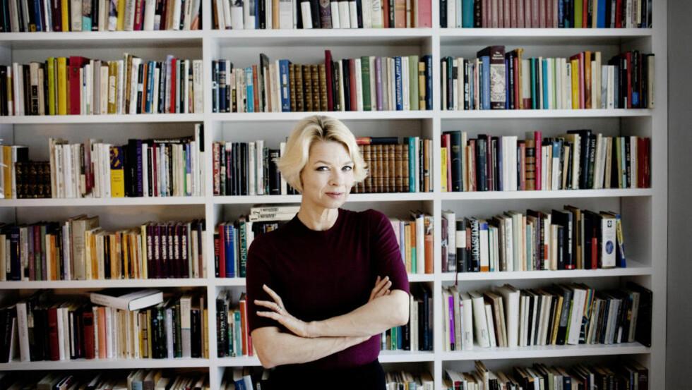 PÅSKELEKTYRE: Linn Ullmanns siste roman har solgt mest av alle norske skjønnlitterære bøker hittil i år, og blir nok påskelektyre for mange nordmenn. FOTO: ADRIAN ØHRN JOHANSEN/ DAGBLADET