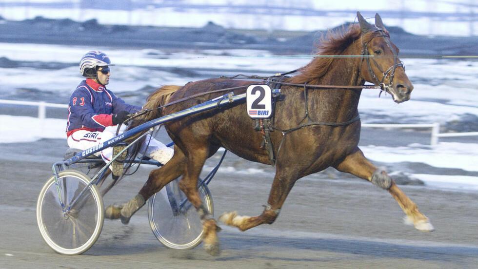 - KREFTER I MASSEVIS: Det er store forventninger til Millstone i V65-4, og både hest og kusk er i storslag. Foto: hesteguiden.com