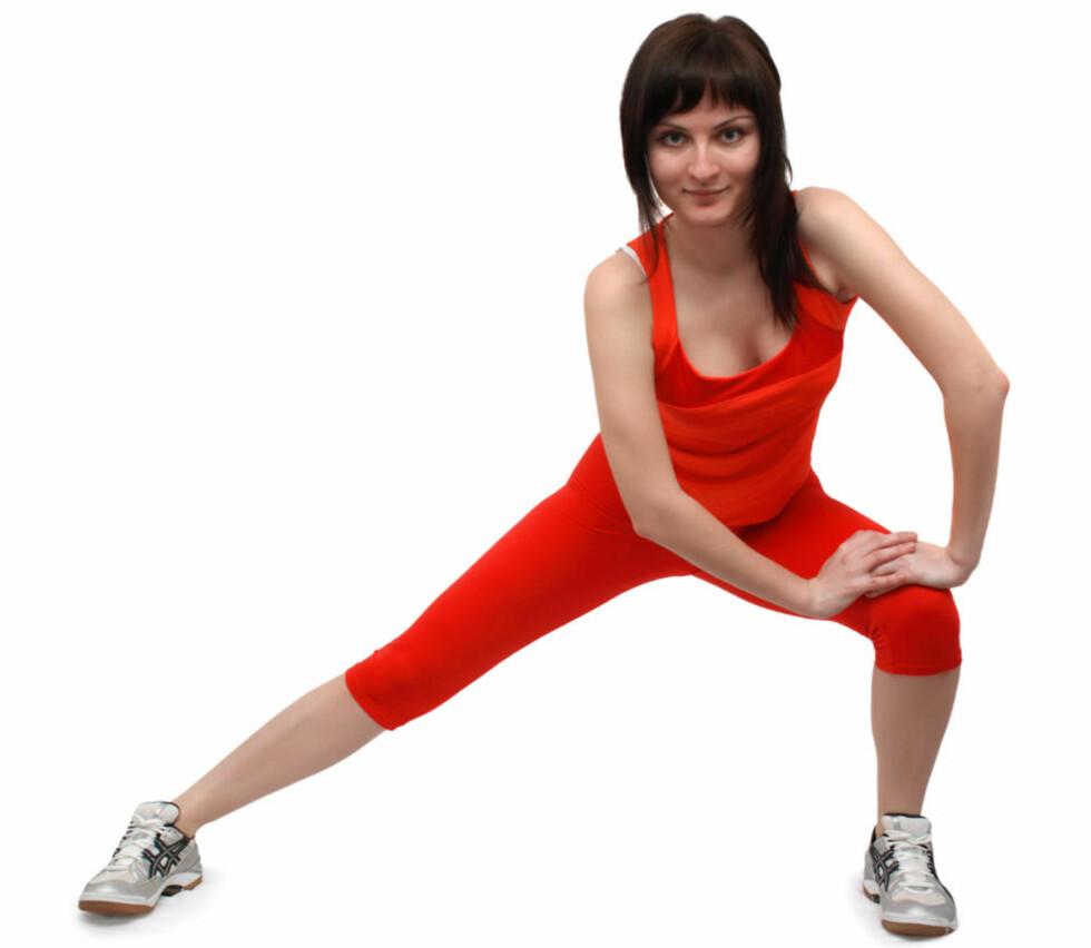 UVENTET BIEFFEKT: Ny forskning viser at trening kan utløse orgasme hos kvinner. Foto: Scanpix