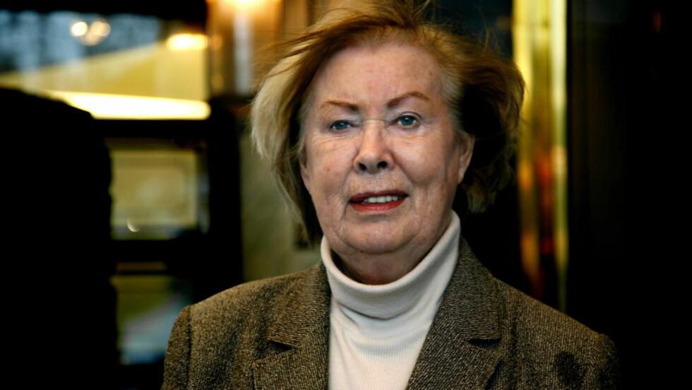 DØD: Den folkekjære forfatteren Anne Karin Elstad er død. Dette bildet er tatt i 2008. Foto: Steinar Buholm/Dagbladet.