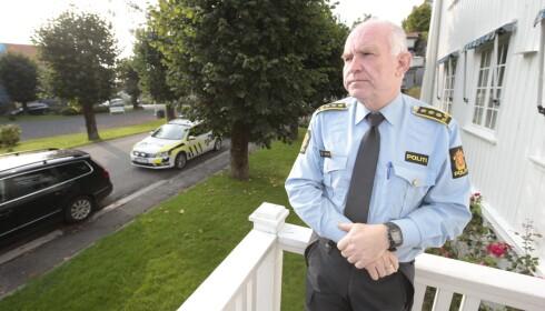 INFORMERTE KOLLEGER: Skottmyr ga selv det tragiske budskapet til den omkomne sine kolleger i går kveld.  Foto: Lise Åserud / NTB scanpix