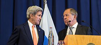 Russland og USA fôrer verden med vås