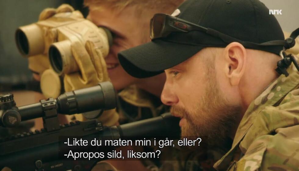 NORSKE STYRKER: Aksel Hennie spiller løytnanten som er sendt til Afghanistan for Norge. Foto: NRK