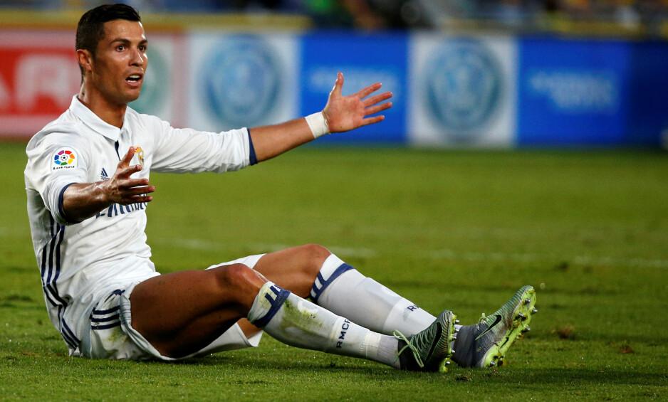 SLITER: Cristiano Ronaldo fikk det ikke til mot Las Palmas i helga. Foto: NTB Scanpix
