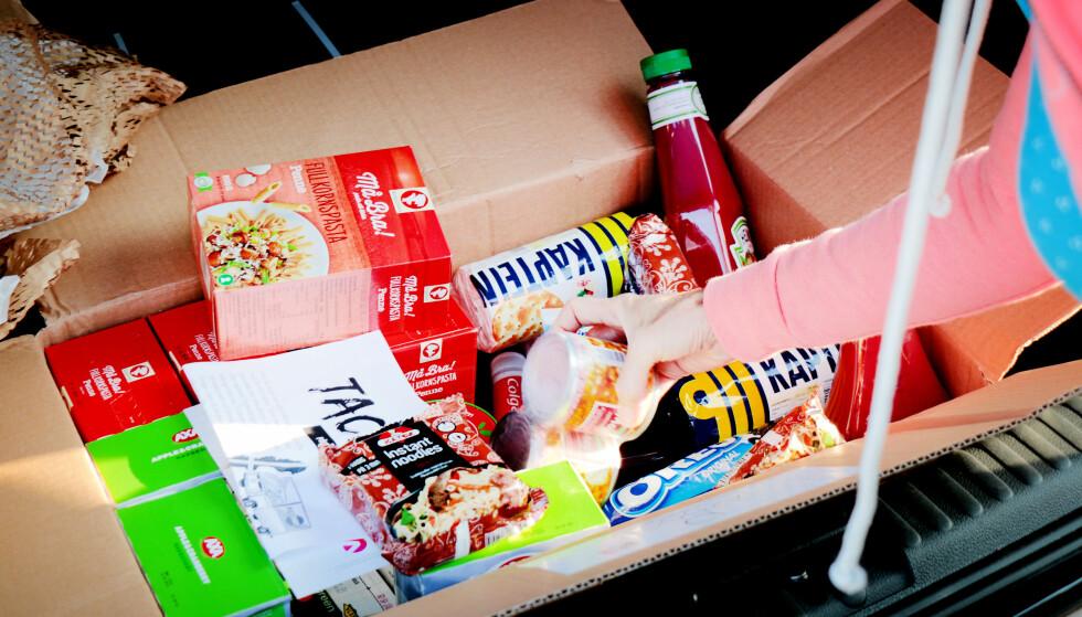 KONKURRANSE: En ny matkasse ønsker å utfordre lavpriskjedene med billig mat til hele uka levert på døra. (Illustrasjonsbilde/Foto: Ole Petter Baugerød Stokke)