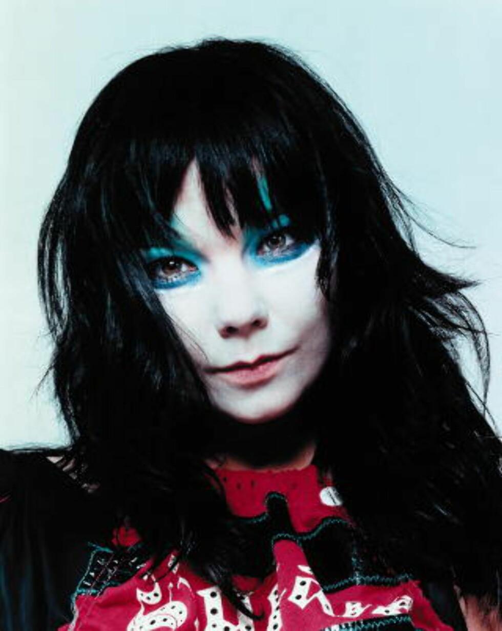 ROMANFIGUR: Björk.