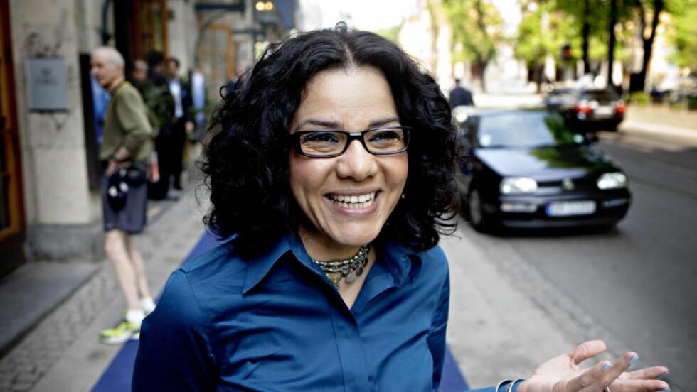 <strong>UTSATT FOR OVERGREP:</strong> Mona Eltahawy, egyptisk kommentator og journalist, bosatt i New York. Foto: Lars Eivind Bones / Dagbladet