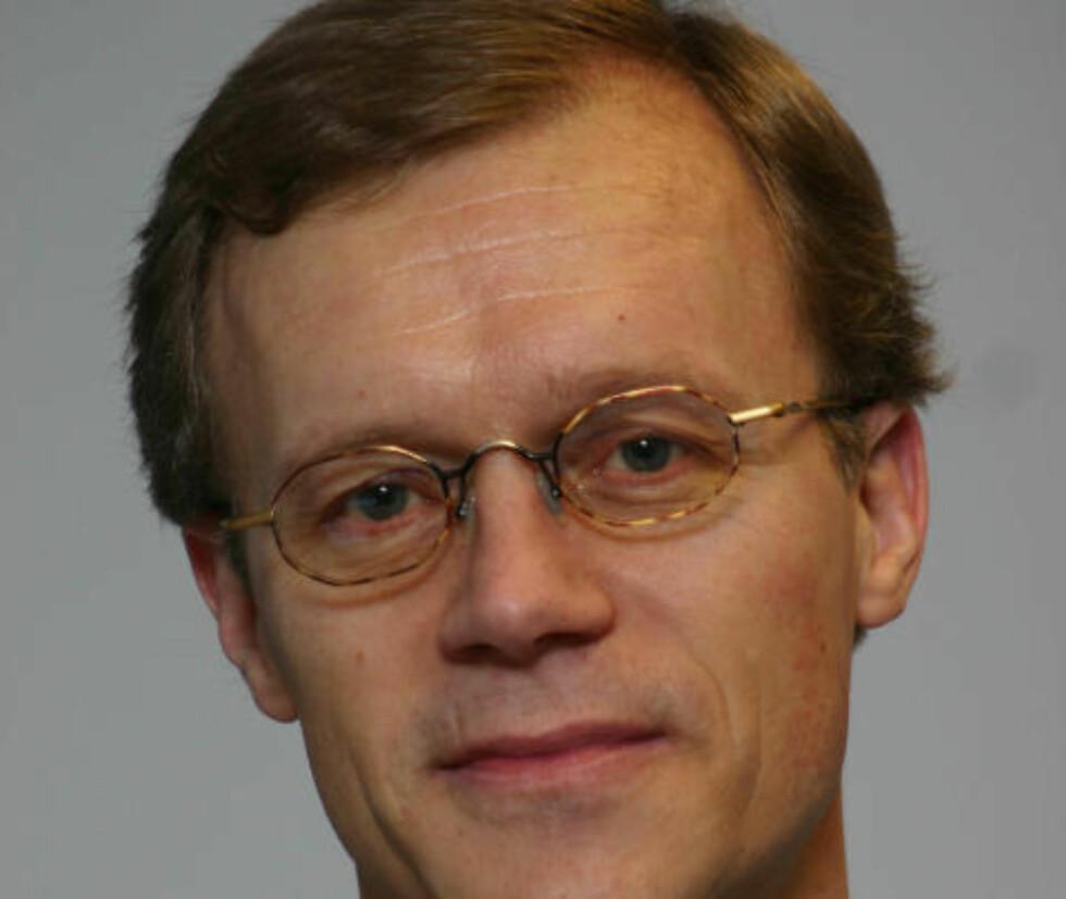 Vil IQ-teste: Ole Jørgen Anfindsen er redaktør i HonestThinking. «Han kunne ha sagt at vi bør måle IQ-en til de forskjellige rasene, som innvandringsmotstander Ole Jørgen Anfindsen gjorde i fjor», skriver Eivind Trædal. Foto: Privat